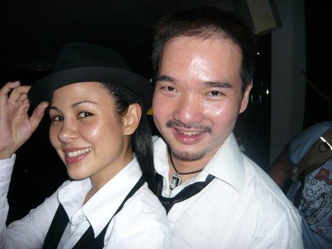 Man & Woman in Black!