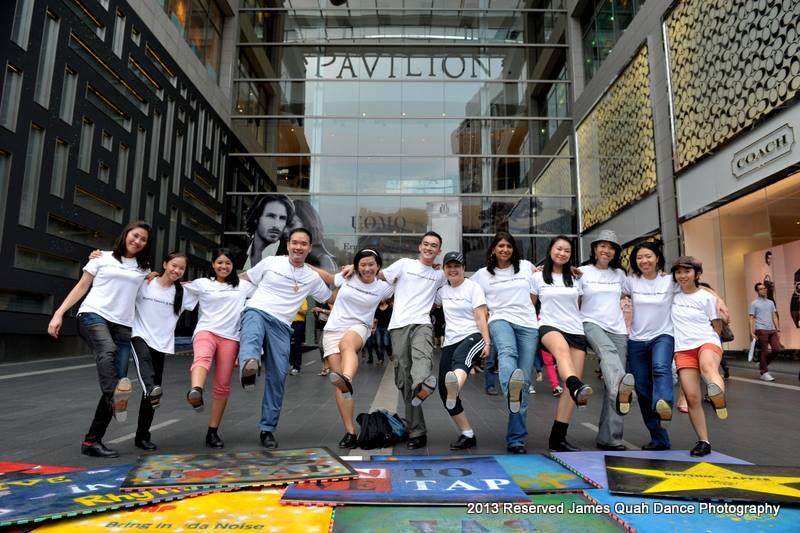Rhythm Tappers @ Malaysia International Tap Dance Day Flash Mob 2013